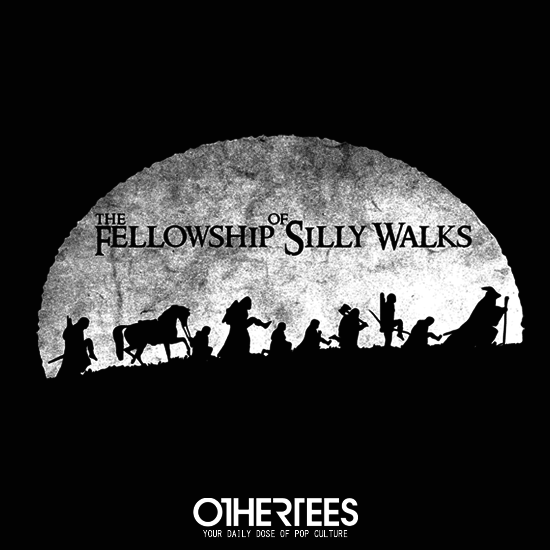 OtherTees: The Fellowship of Silly Walks