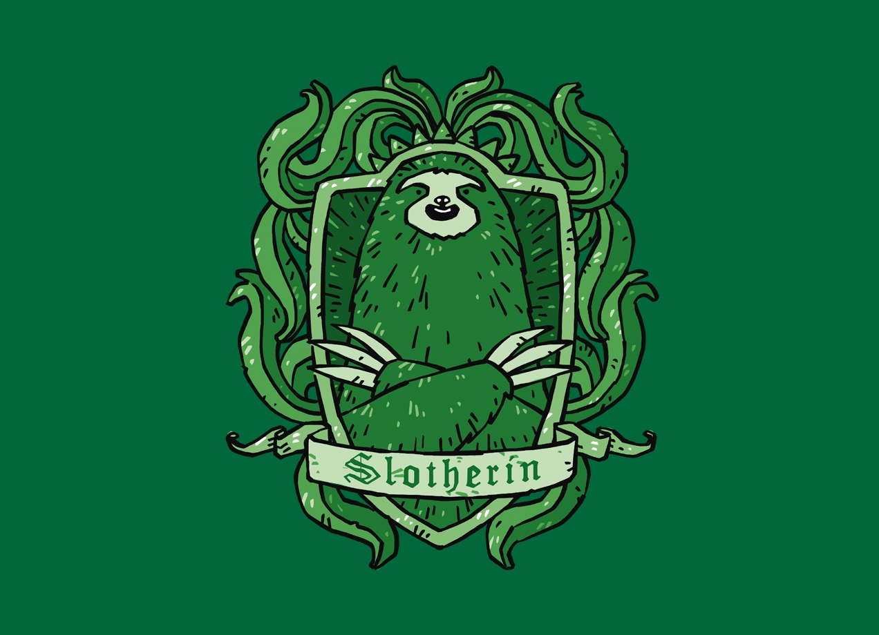 Threadless: Slotherin