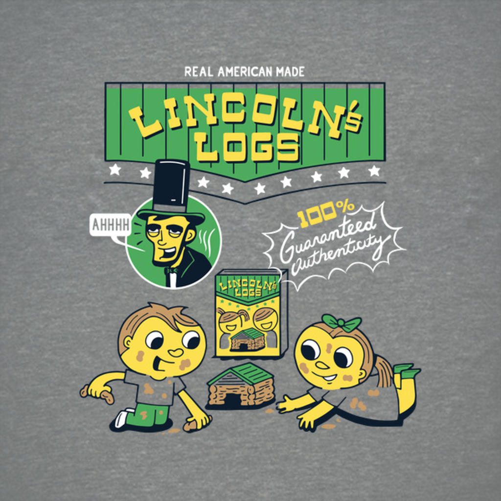 NeatoShop: Lincoln's Logs