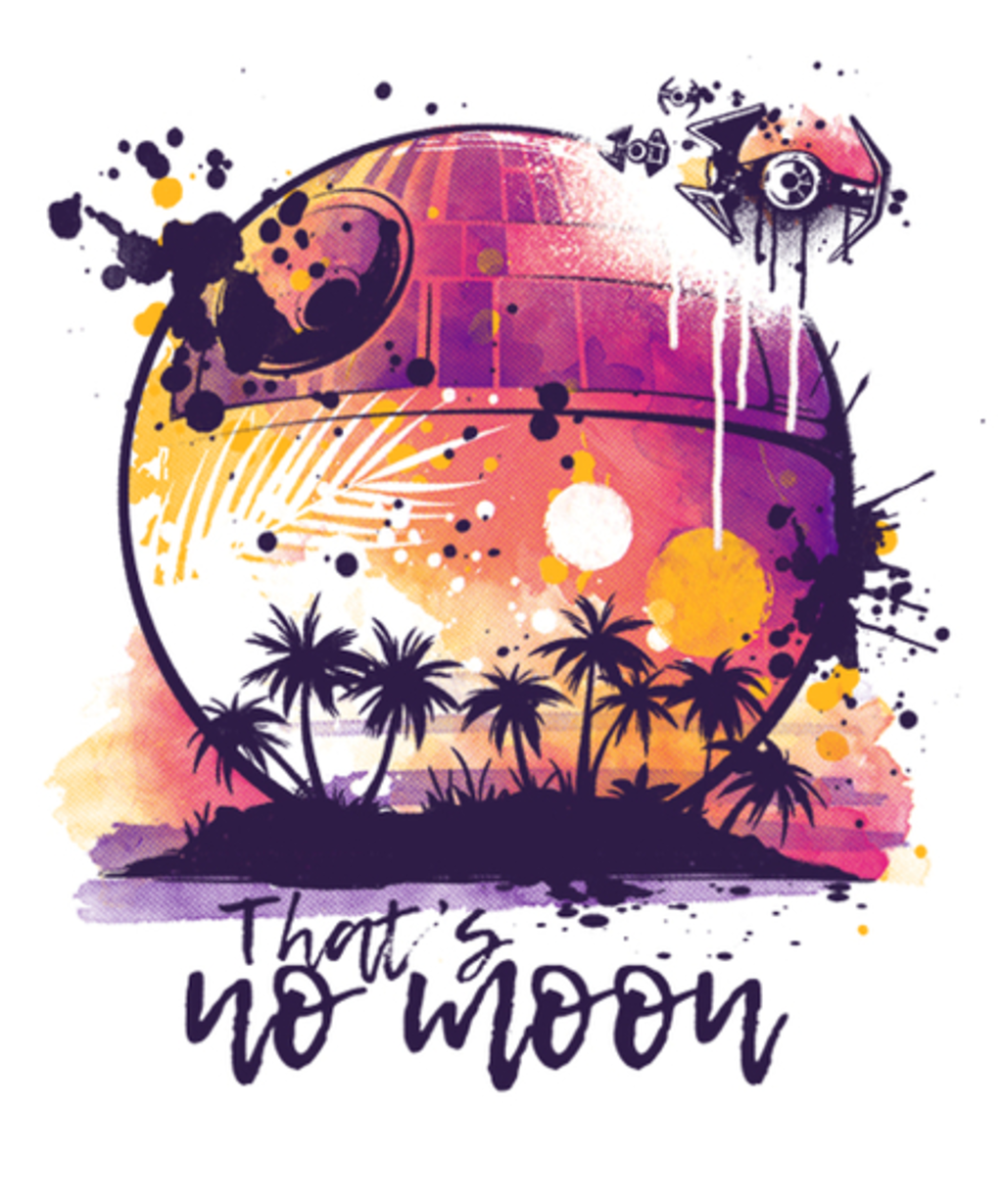 Qwertee: Summer side watercolor