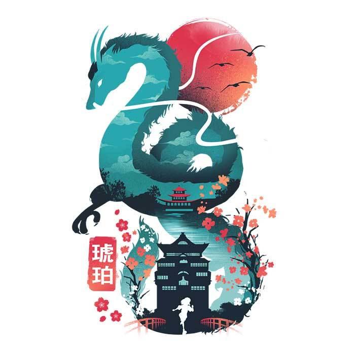 Once Upon a Tee: Dragon Ukiyo-e