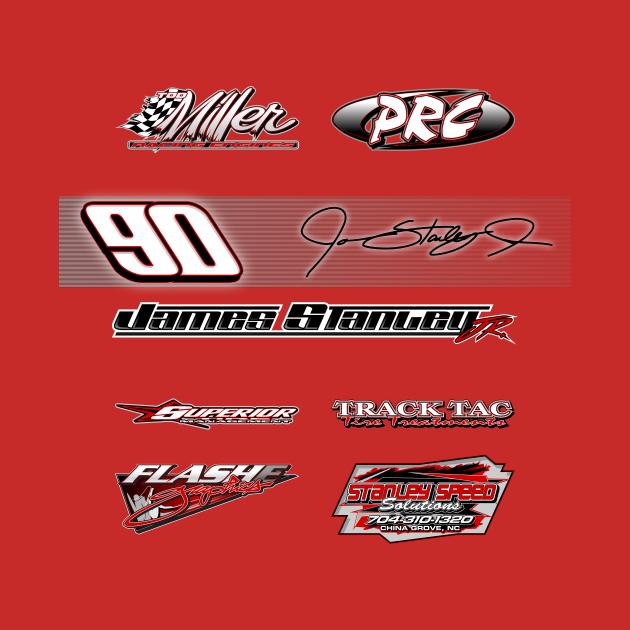 TeePublic: James Stanley Racing 2021 'Sponsor'