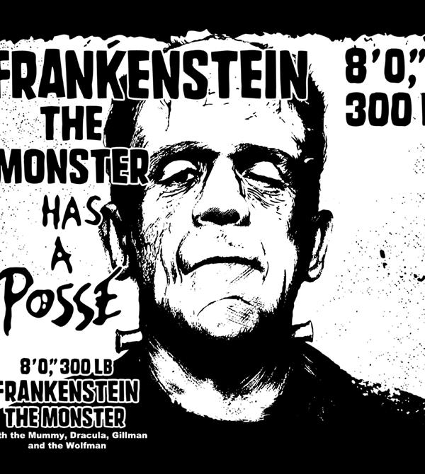 teeVillain: Monster Posse