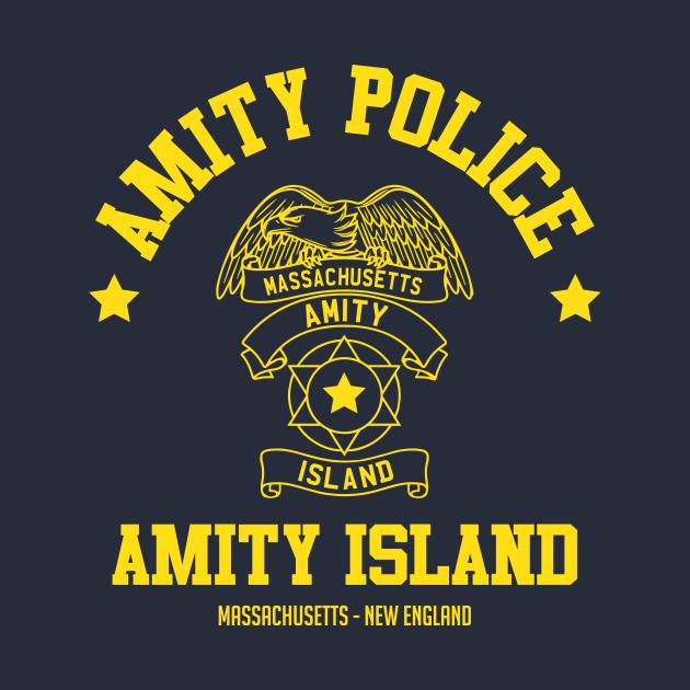 TeePublic: Amity Island Police