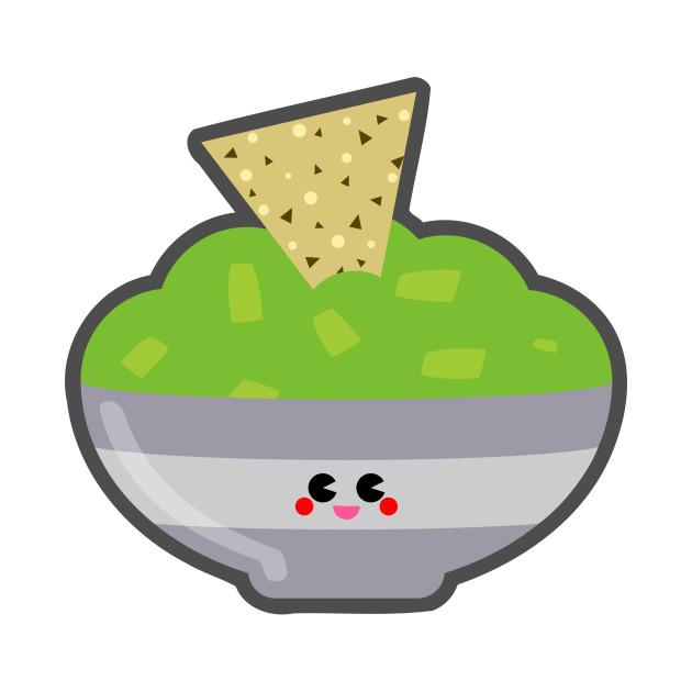 TeePublic: Adorable Guacamole Dip