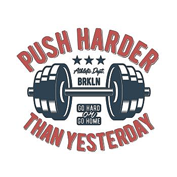 BustedTees: Push Harder than Yesterday