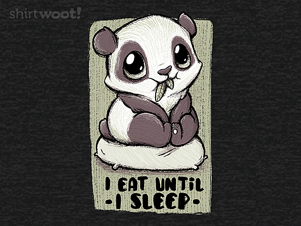 Woot!: Eat Until I Sleep