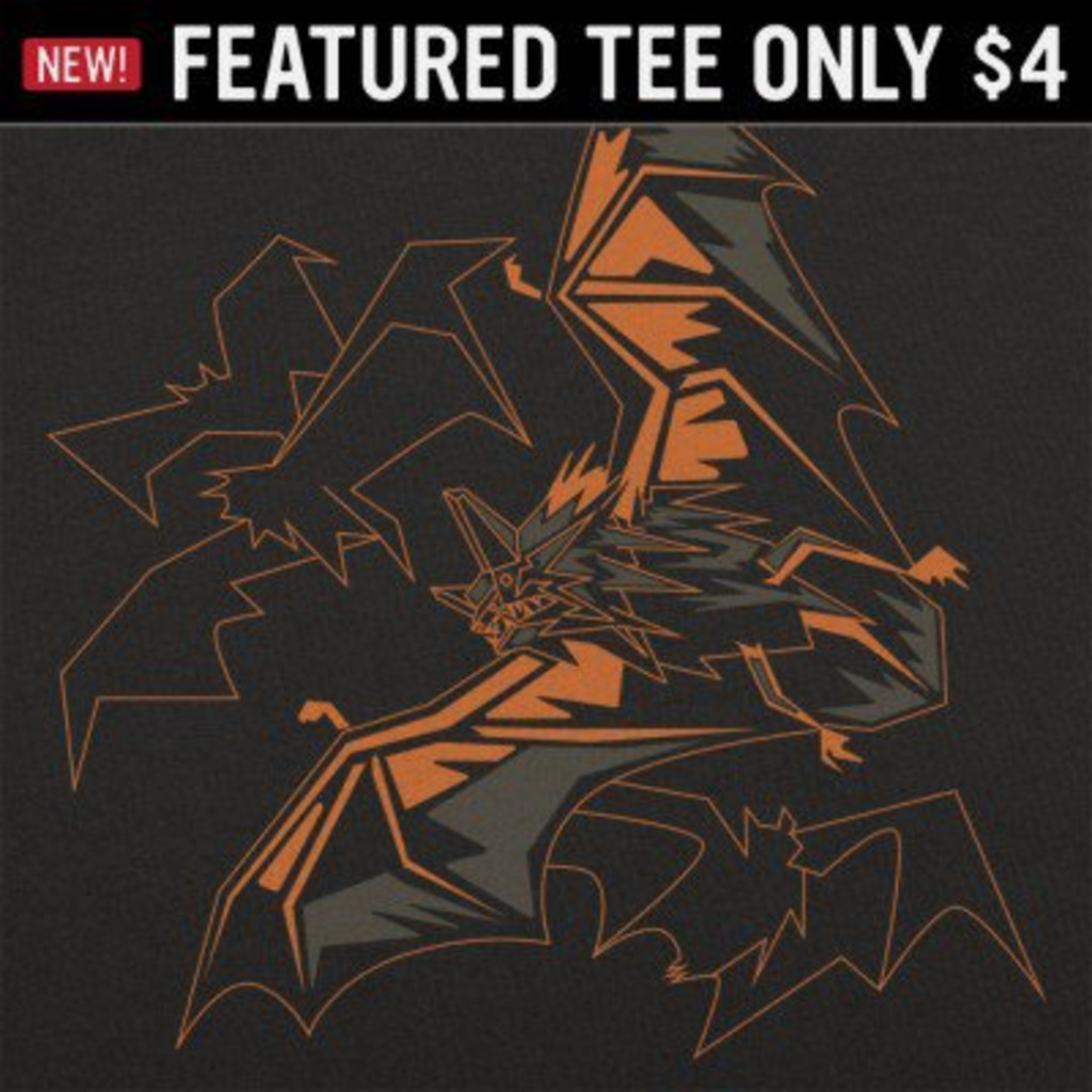 6 Dollar Shirts: Polygon Bats