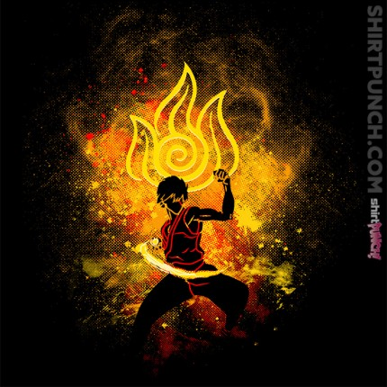 ShirtPunch: Zuko Art