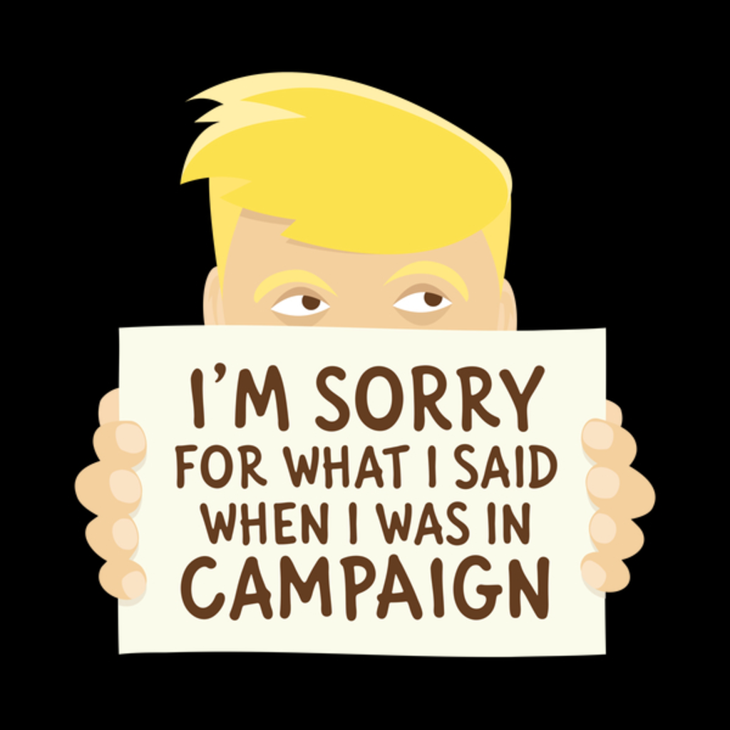 NeatoShop: I'm sorry for what I said when I was in campaign