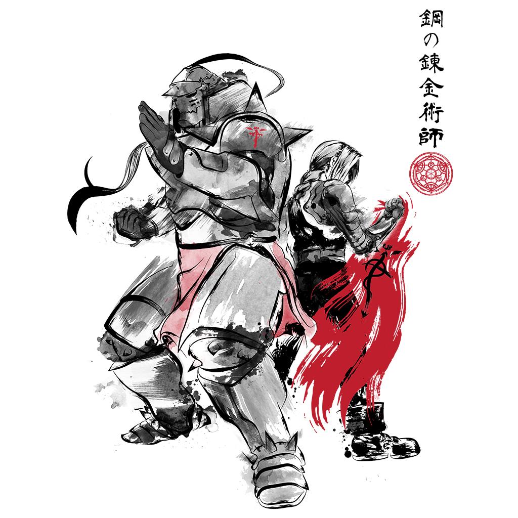 TeeTee: Brotherhood Sumi-e