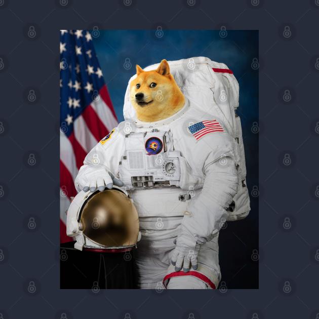 TeePublic: Doge Astronaut