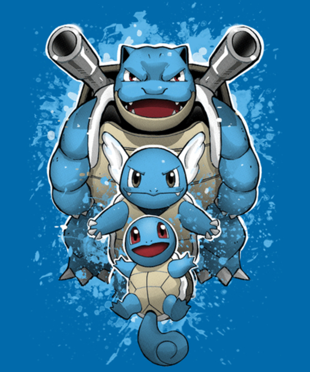 Qwertee: Water evolution