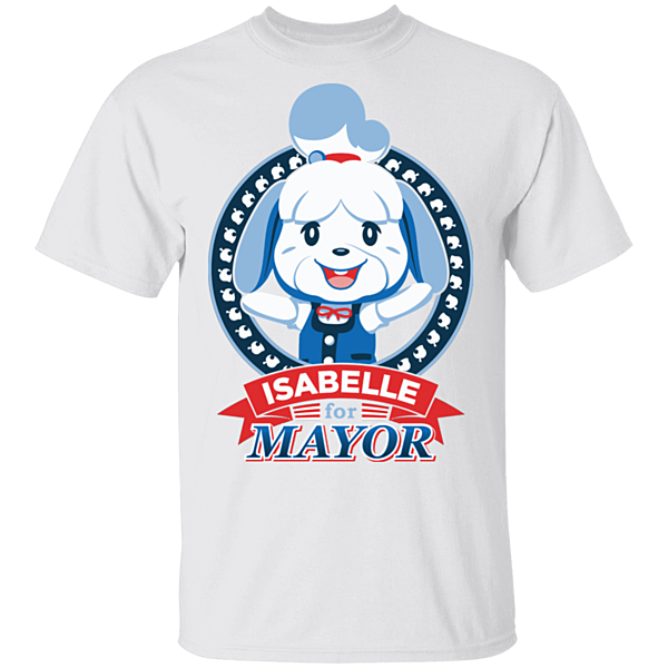 Pop-Up Tee: Elect Mayor Isabelle