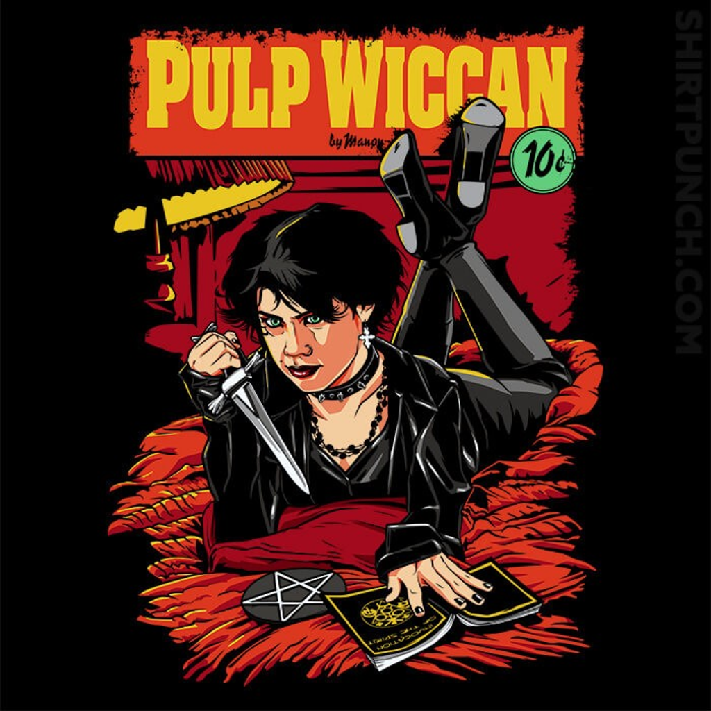 ShirtPunch: Pulp Wiccan
