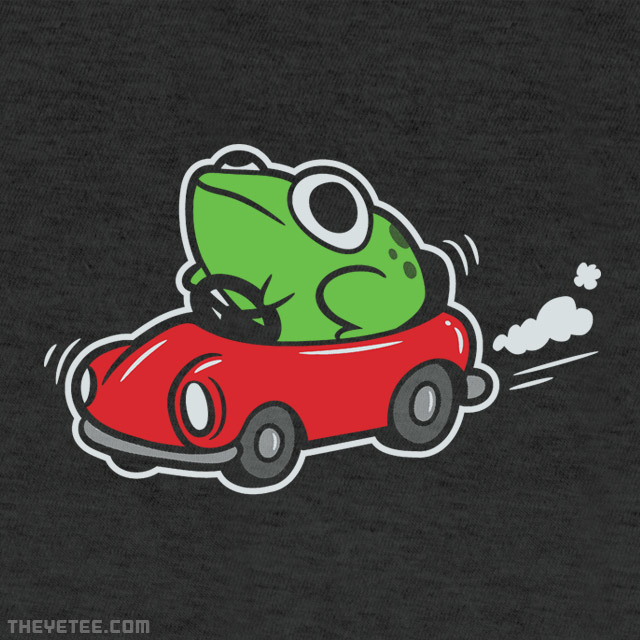 The Yetee: Frog In A Car