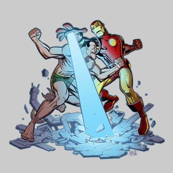 NeatoShop: Savage vs. Invincible