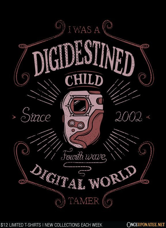 Once Upon a Tee: Digidestined: Fourth Wave