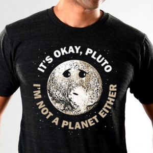 SnorgTees: It's Okay Pluto Limited Edition Tri-Blend