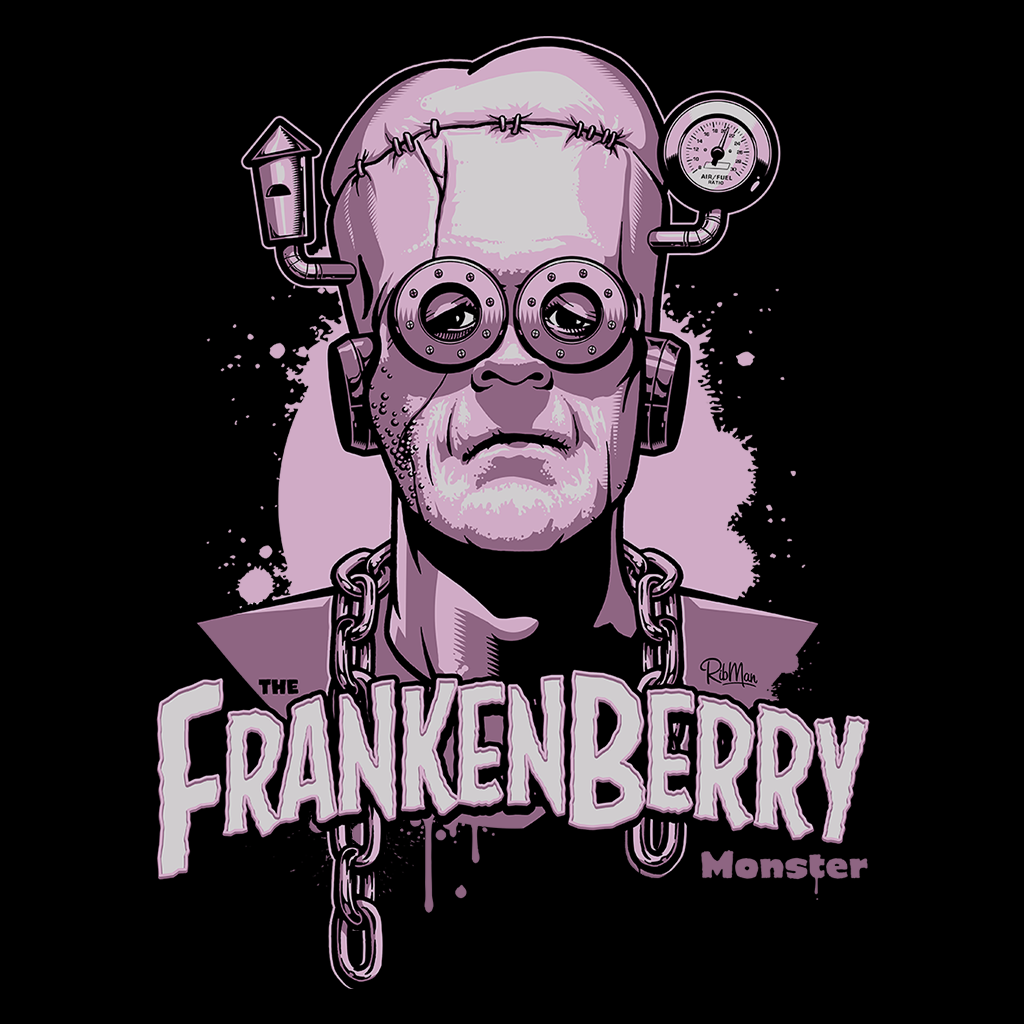 Pop-Up Tee: Frankenberry
