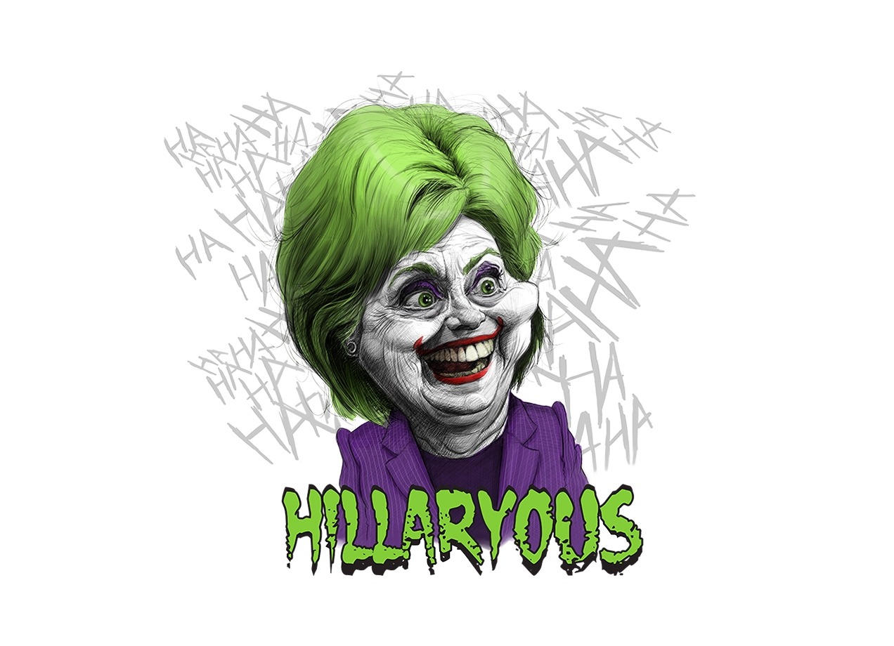 Threadless: Hillaryous