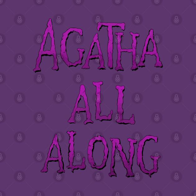 TeePublic: Agatha All Along in Technicolor!
