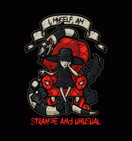 BustedTees: Lydia the Strange