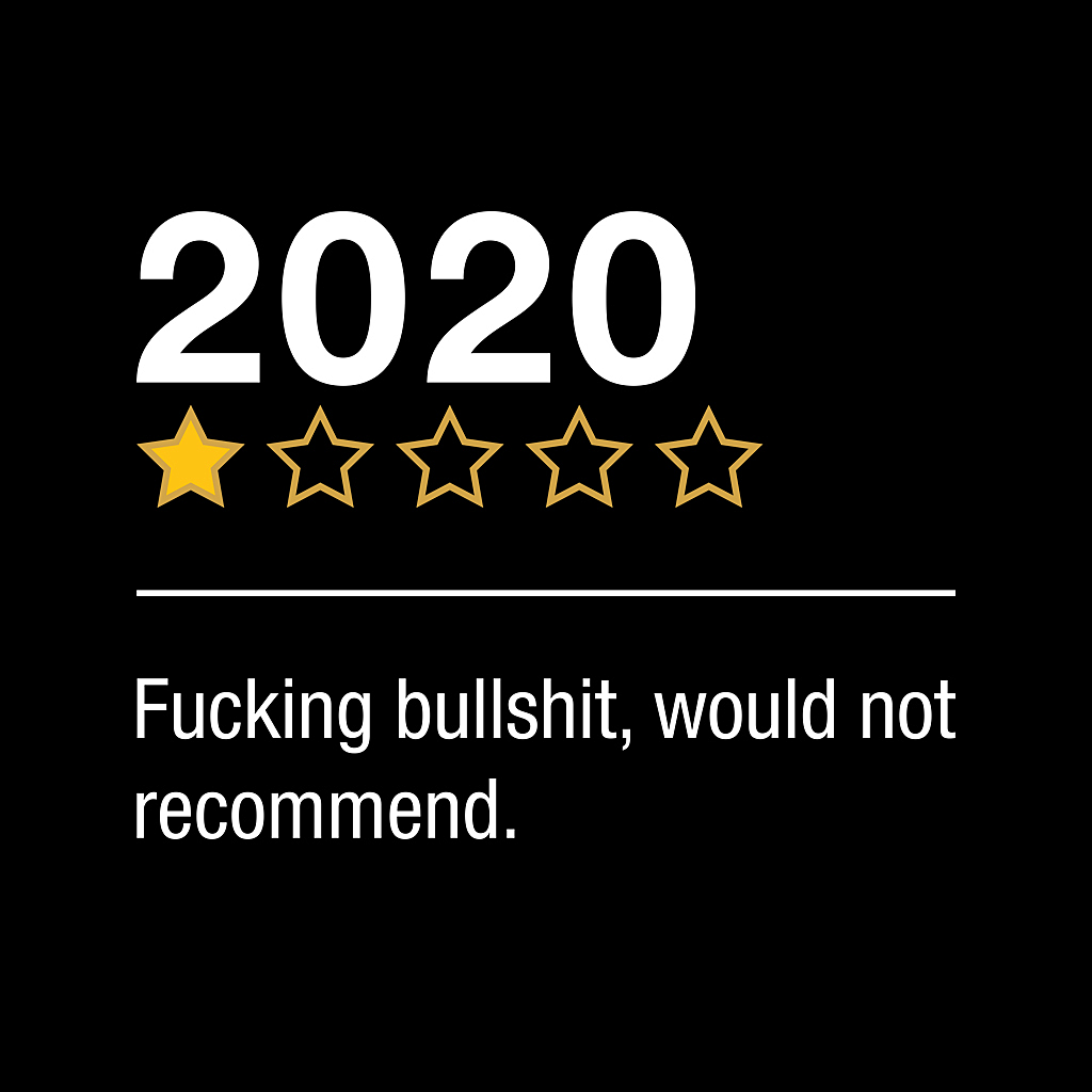 TeeTee: REVIEW of 2020
