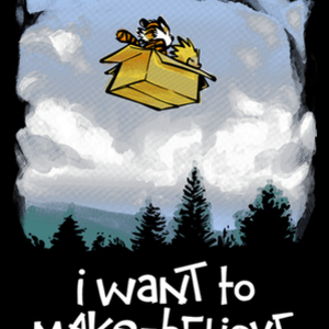 Qwertee: I Want To Make Believe
