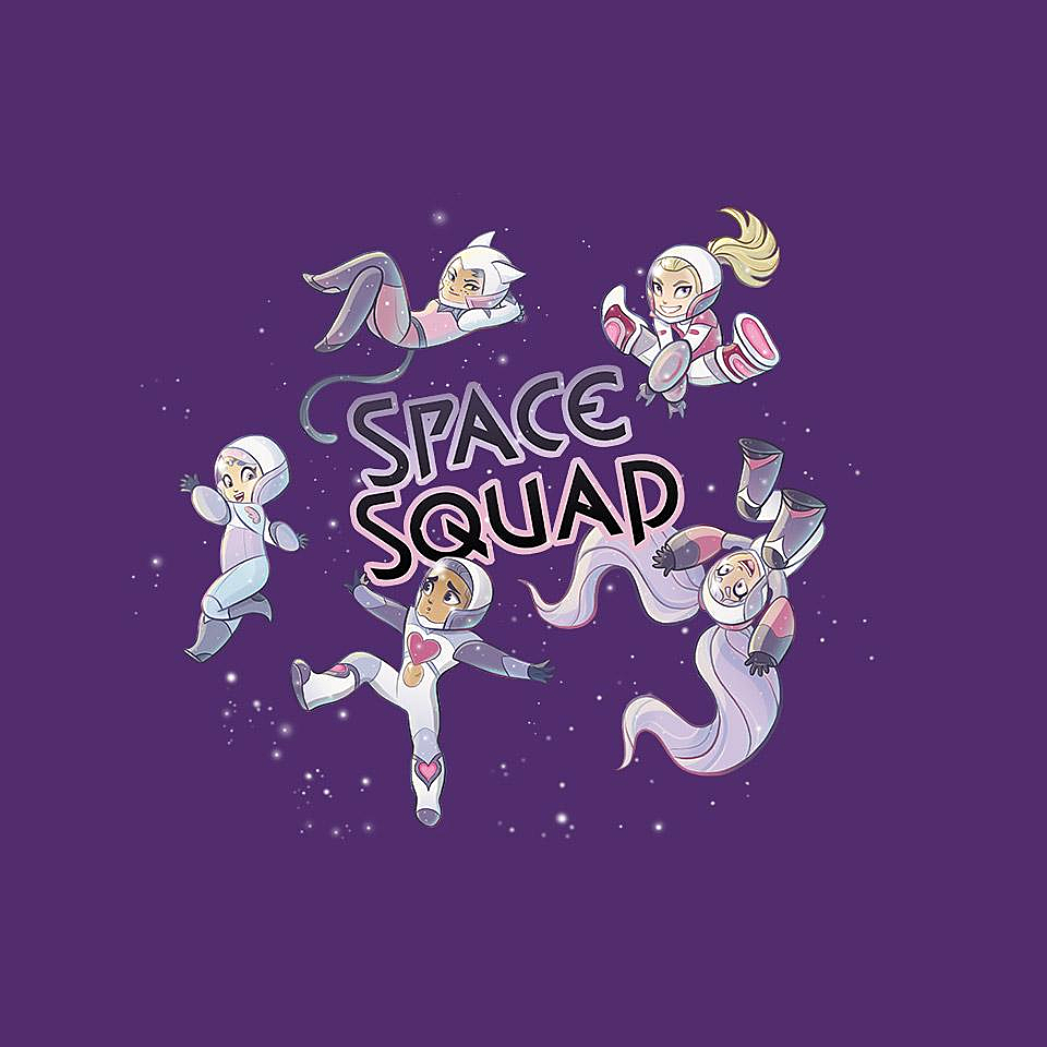 TeeFury: She Space Squad