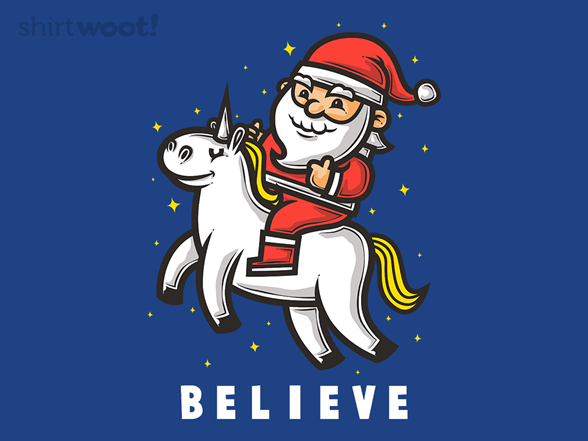 Woot!: Believe - $8.00 + $5 standard shipping