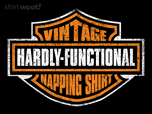 Woot!: My Vintage Napping Shirt