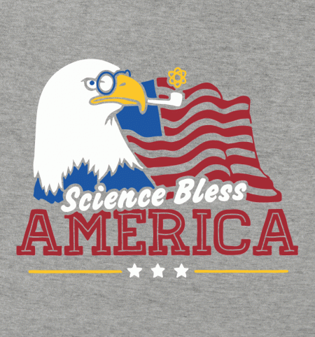 BustedTees: Science Bless America