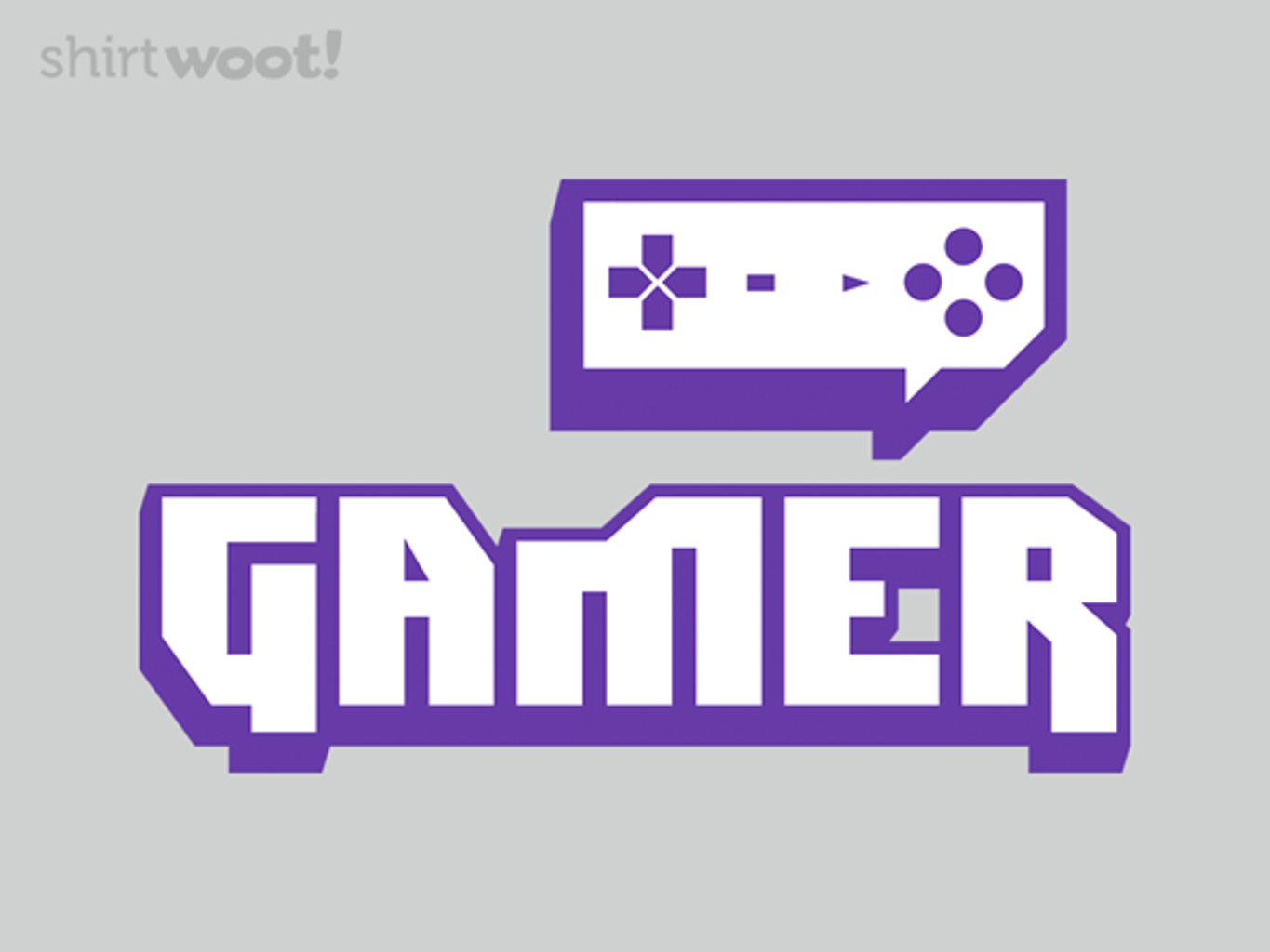 Woot!: Gamer Itch - $15.00 + Free shipping
