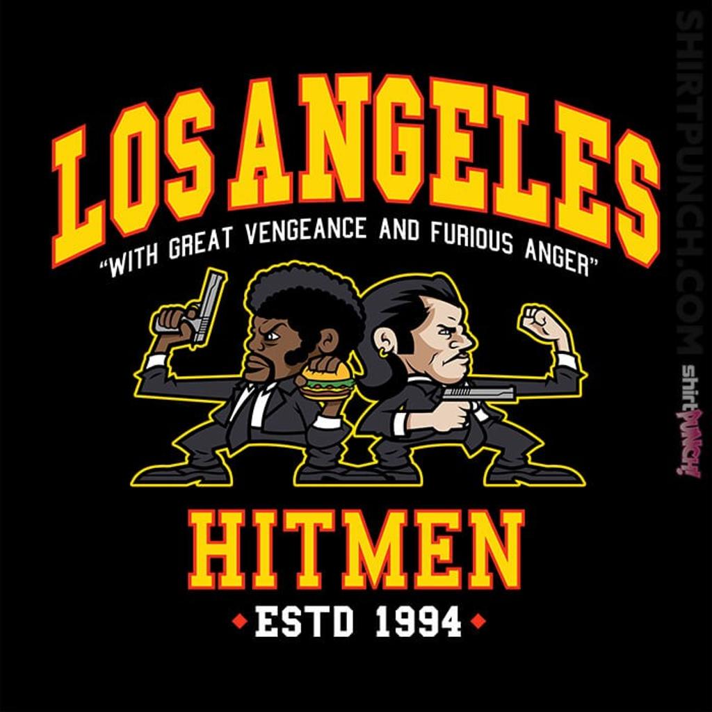 ShirtPunch: L.A. Hitmen