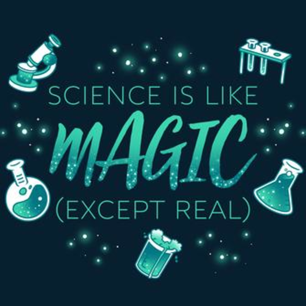 TeeTurtle: Science Is Like Magic (Except Real)