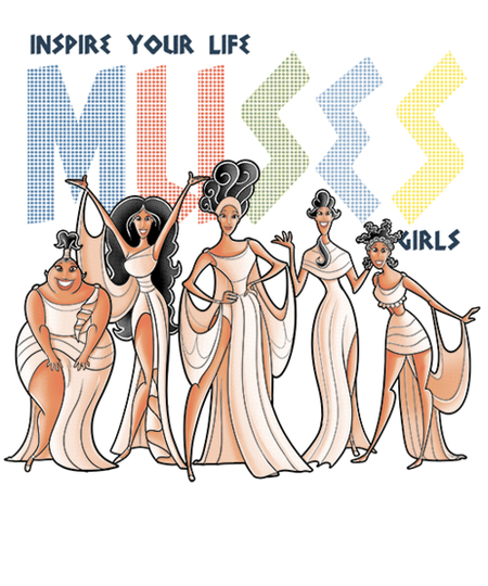 Qwertee: Muses girls