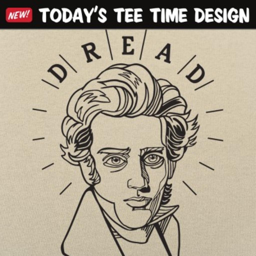 6 Dollar Shirts: Kierkegaard Quote