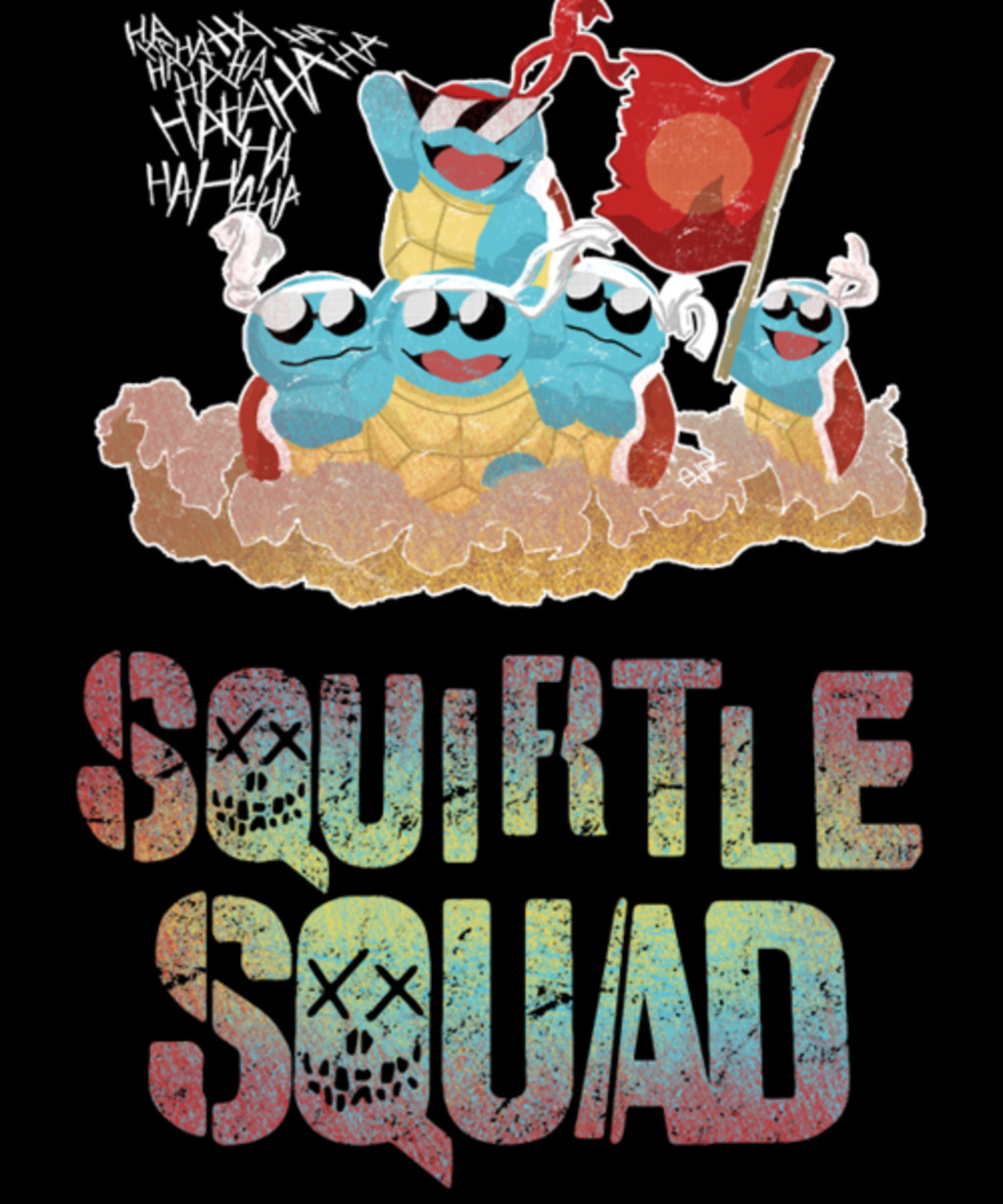 Qwertee: Squirtle Squad