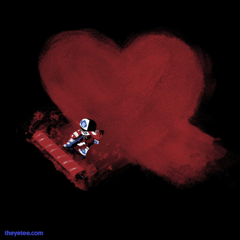 The Yetee: Roller Lover