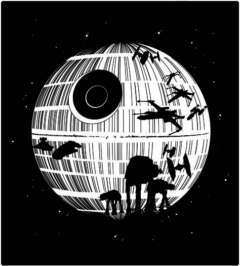 Shirt Battle: Death Star