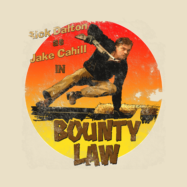 TeePublic: Bounty Law, distressed
