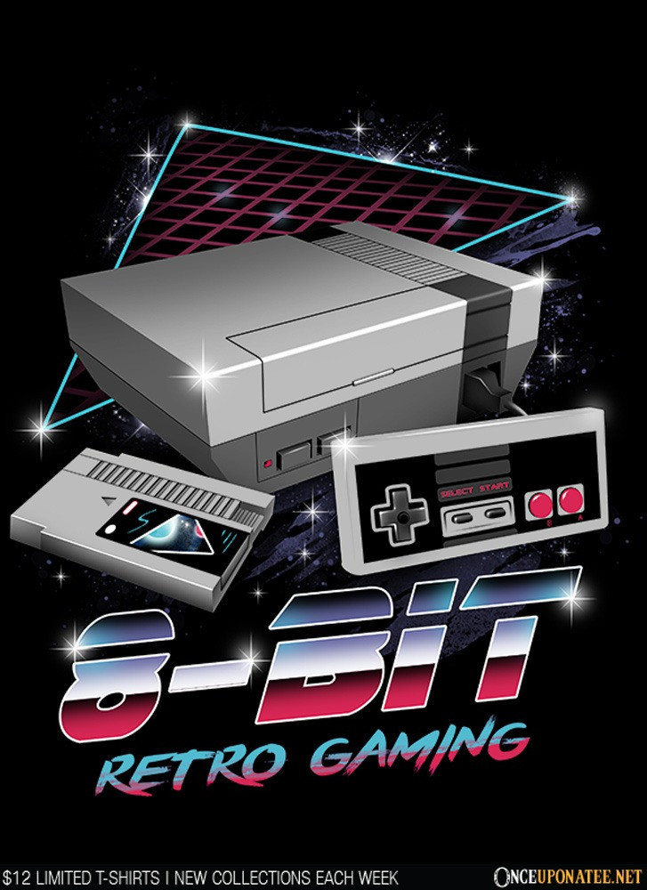 Once Upon a Tee: 8-Bit Retro Gaming