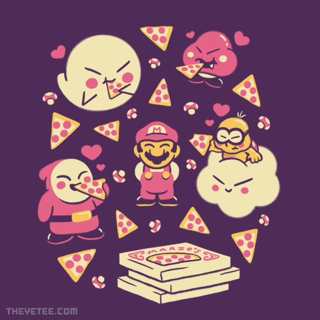 The Yetee: Pizza Party