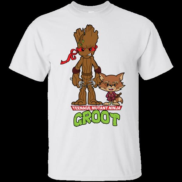 Pop-Up Tee: Teenage Mutant Ninja Groot