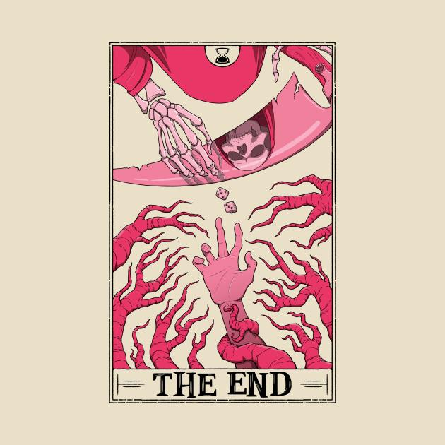 TeePublic: The End Tarotesque (light shirt)