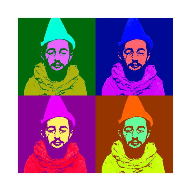 TeePublic: Henri de Toulouse-Lautrec Pop Art Design