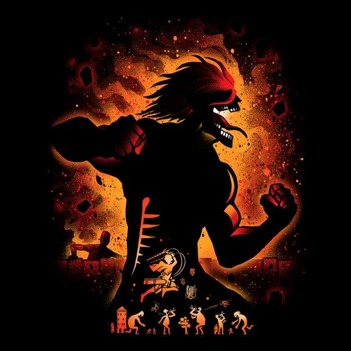 Once Upon a Tee: Attack Titan