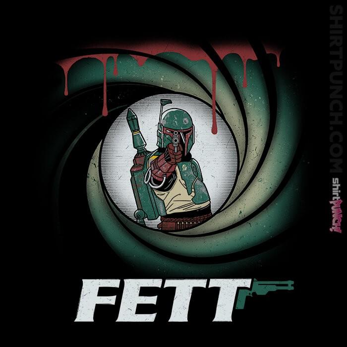 ShirtPunch: Agent Fett