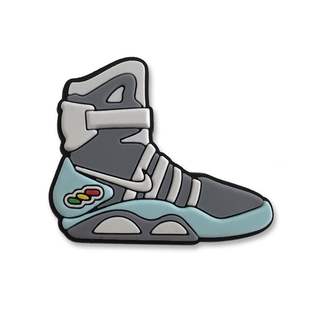 Pop Vulture: Back to the Future Shoe Pin